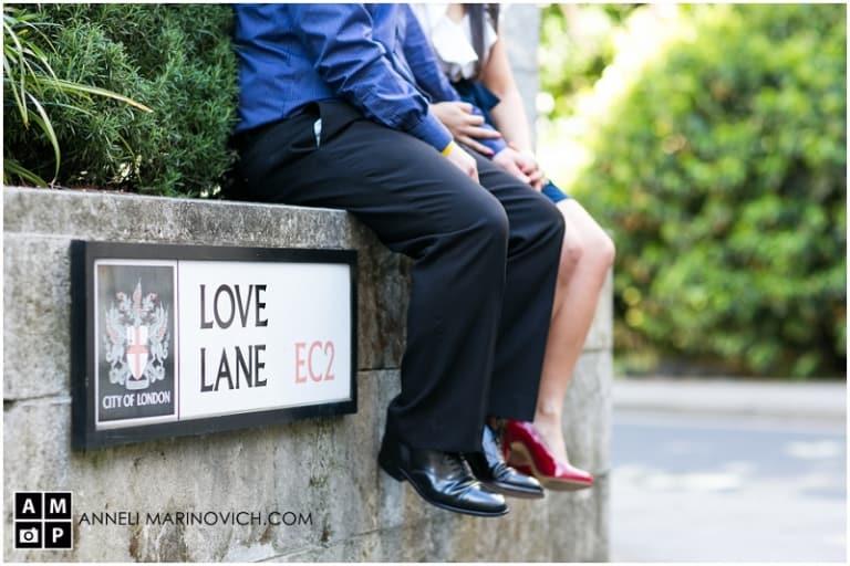 Love Lane Sign||||