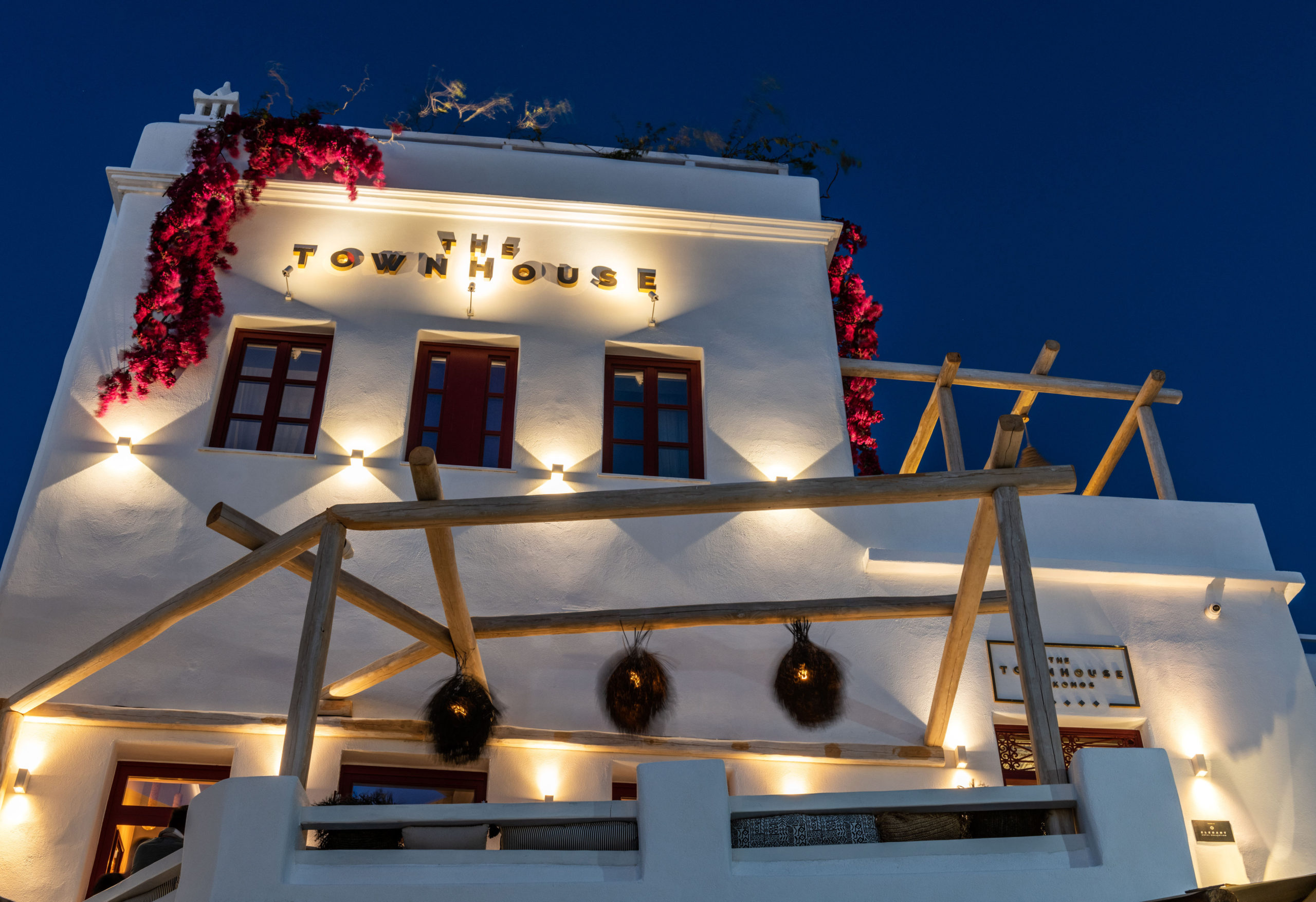 The TownHouse Mykonos Hotel Exterior